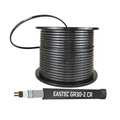 Саморегулирующийся нагревательный кабель EASTEC GR 30-2 CR, M=30W с УФ-защитой (Ю.Корея)