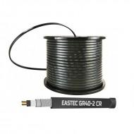 EASTEC GR 40-2 CR, M=40W, греющий кабель с УФ-защитой (Ю.Корея)