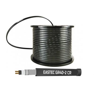 Саморегулирующийся нагревательный кабель EASTEC GR 40-2 CR, M=40W с УФ-защитой (Ю.Корея)